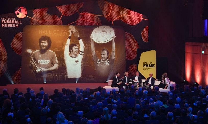 Sepp Maier, Andreas Brehme oraz Franz Beckenbauer /Ina Fassbender /AFP