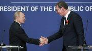 Serbia: W Belgradzie salwy honorowe i bicie dzwonów na powitanie Putina