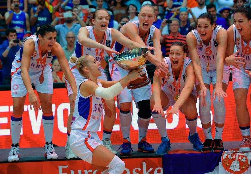 Serbki mistrzyniami Europy /AFP