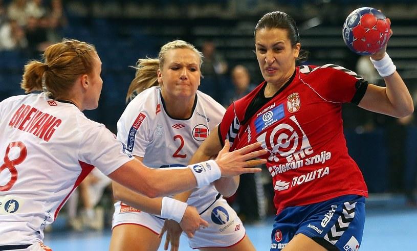 Serbki pokonały Norweżki w ćwierćfinale MŚ /PAP/EPA