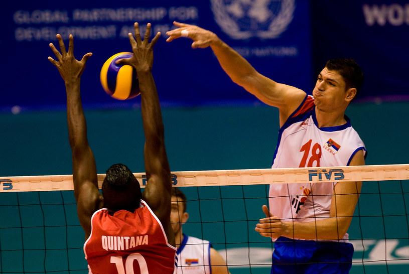 Serbowie dwa razy ograli Kubańczyków /AFP