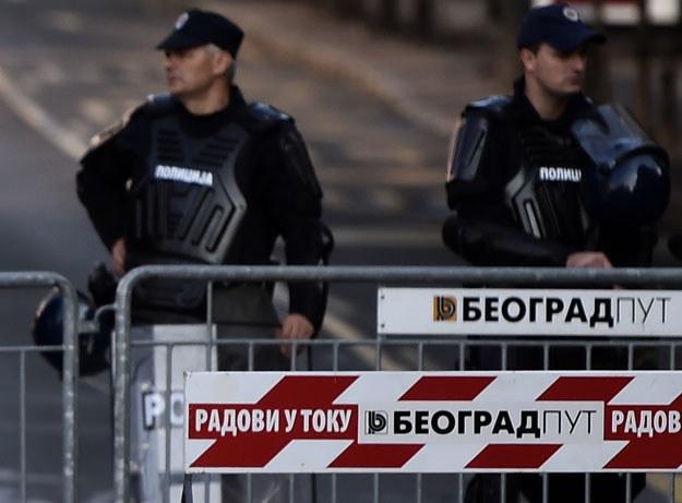 Serbska policja (zdjęcie ilustracyjne) /AFP