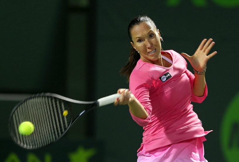 Serbska tenisistka Jelena Jankovic /AFP