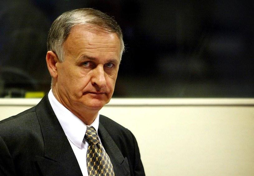 Serbski zbrodniarz wojenny gen. Krstić. /AFP