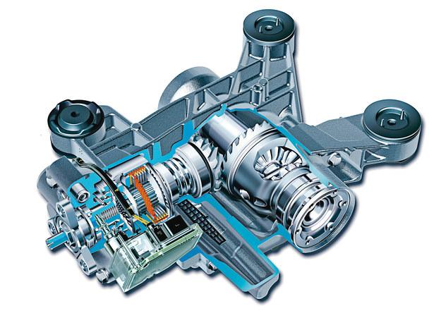 Sercem napędu na cztery koła w przypadku Octavi II jest wielopłytkowe sprzęgło międzyosiowe Haldex ze sterowaniem elektronicznym. /Volkswagen