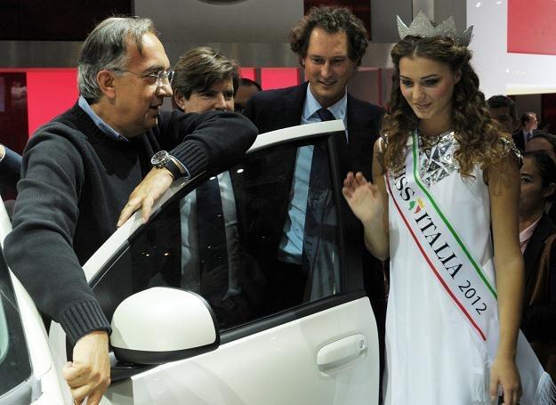 Serchio Marchionne przedstawił plan przetrwania kryzysu /AFP