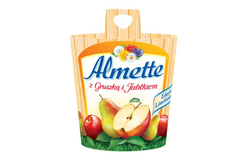 Serek Almette z gruszką i jabłkiem /Styl.pl/materiały prasowe