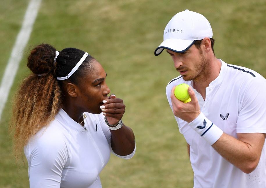 Serena William i Andy Murray odpadli z Wimbledonu /ANDY RAIN /PAP/EPA