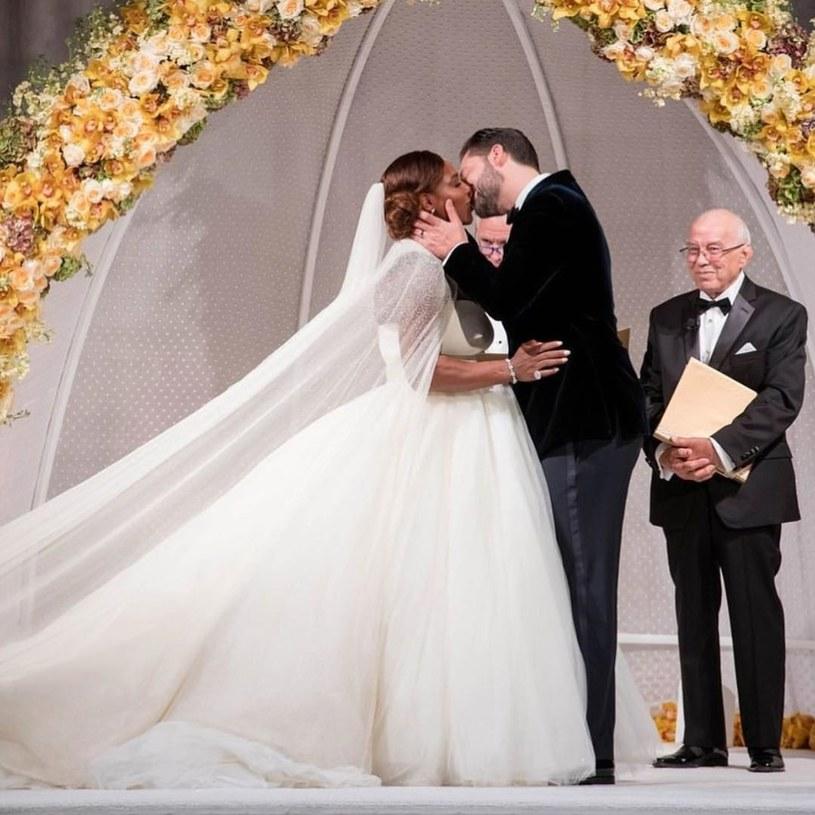 Serena Williams i Alexis Ohanian są małżeństwem od 16 listopada 2017 roku /East News
