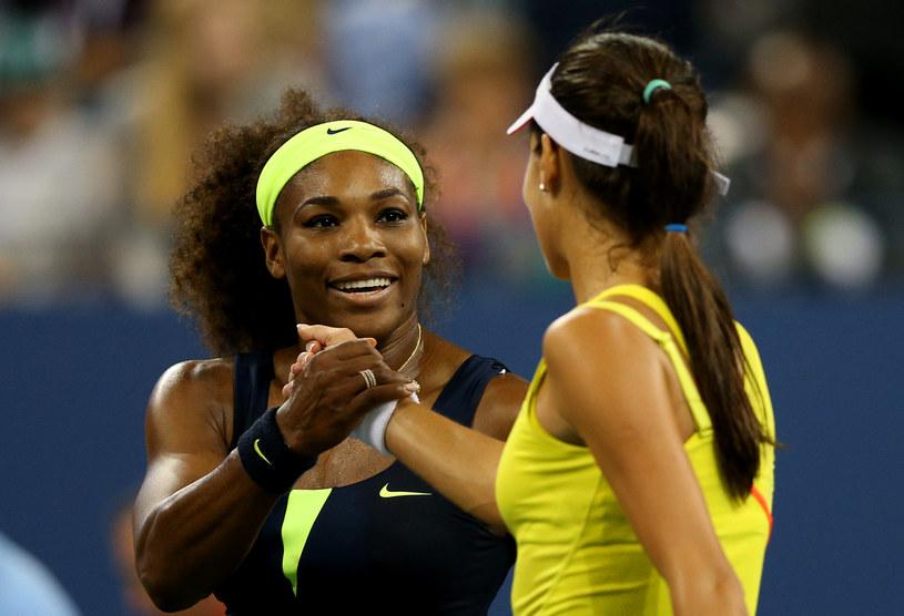 Serena Williams i Ana Ivanović /AFP