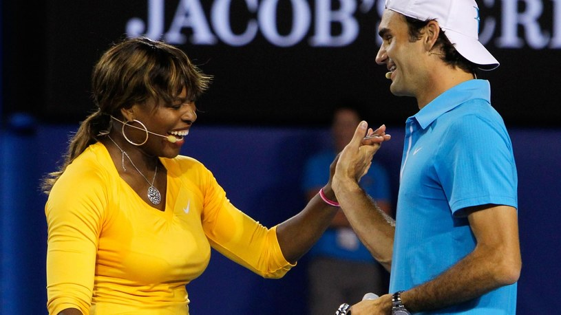 Serena Williams i Roger Federer /Reuters