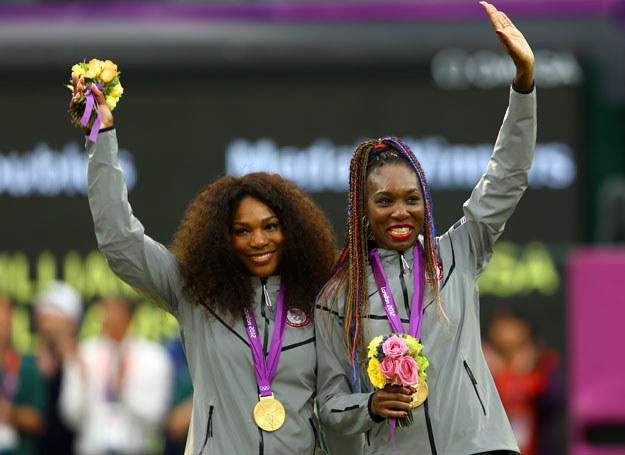 Serena Williams i Venus Williams /Getty Images/Flash Press Media