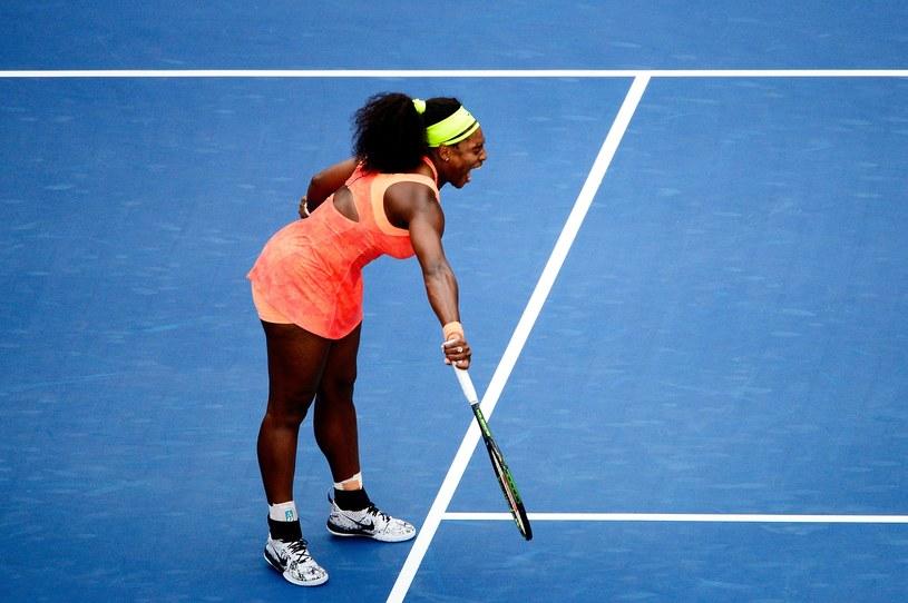 Serena Williams nie dała rady z Robertą Vinci. /AFP