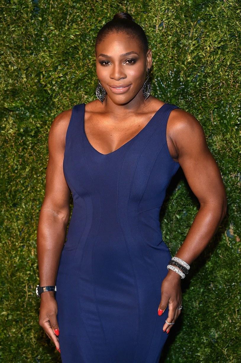 Serena Williams w nieco innym stroju niż na korcie /AFP