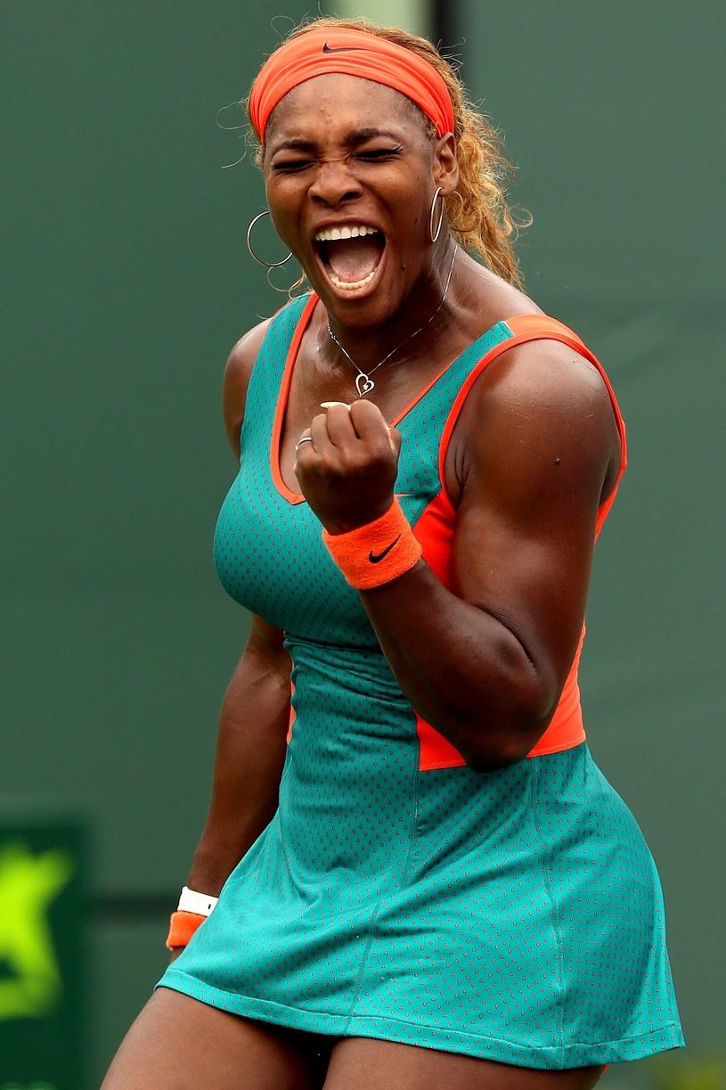 Serena Williams znów okazała się najlepsza /AFP