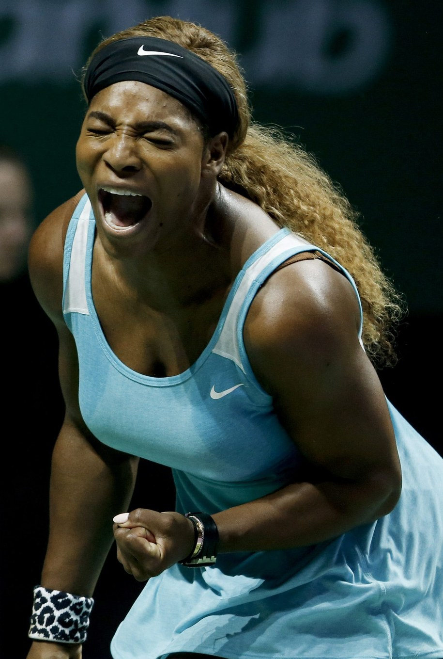 Serena Williams /WALLACE WOON /PAP/EPA