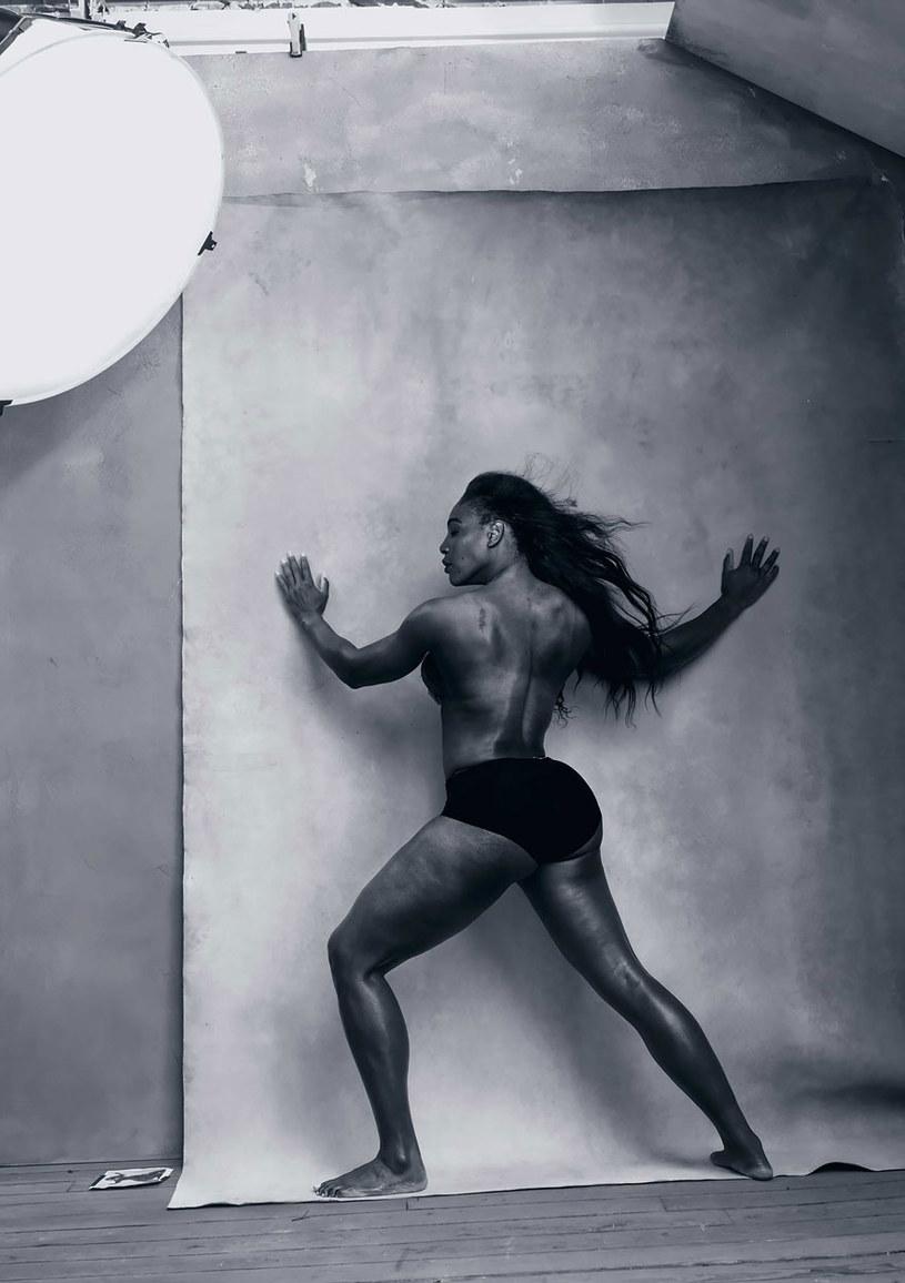 Serena Williams /Annie Leibovitz / Pirelli /materiały prasowe