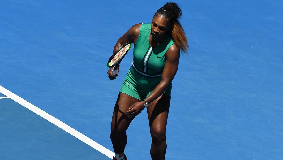 Serena Williams /JULIAN SMITH /PAP/EPA