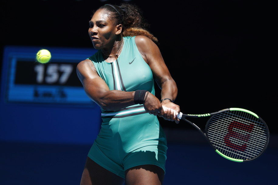 Serena Williams /RITCHIE TONGO /PAP/EPA