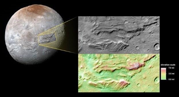 Serenity Chasma /NASA