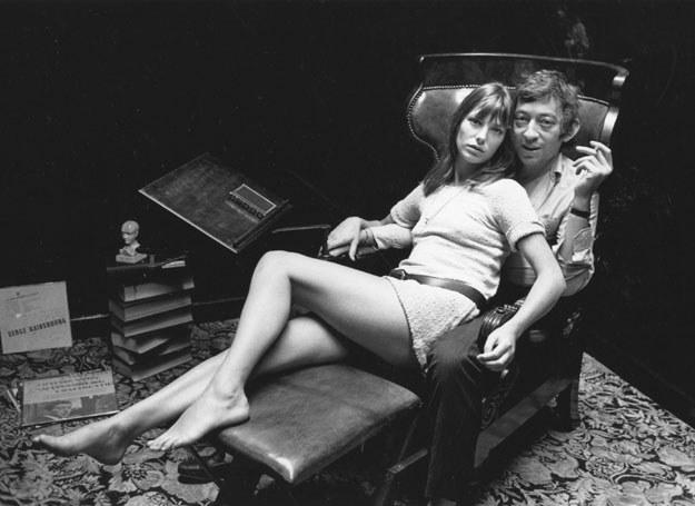Serge Gainsbourg i Jane Birkin  /Getty Images/Flash Press Media