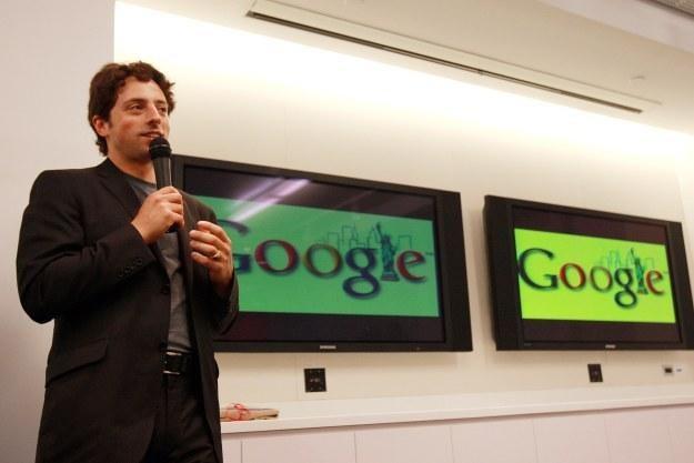 Sergey Brin /AFP