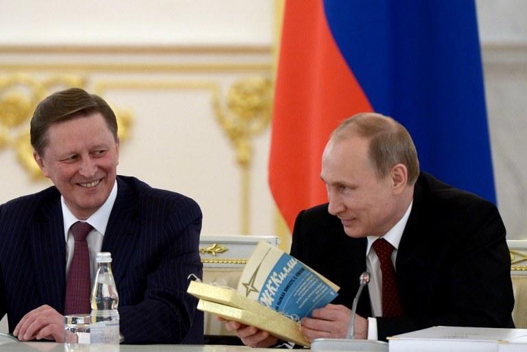 Sergiej Iwanow i Władimir Putin /AFP