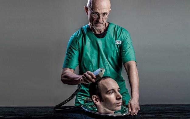 Sergio Canavero - zdjęcie przedstawiające włoskiego neurochirurga. Źródło nieznane /materiały źródłowe