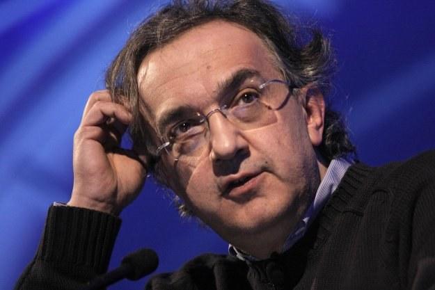 Sergio Marchionne, dyrektor generalny Fiata /AFP