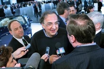 Sergio Marchionne, szef Chrysler Group LLC /