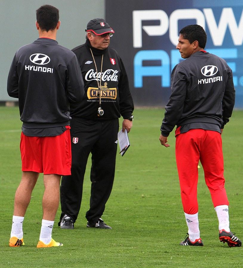 Sergio Markarian nie jest już selekcjonerem Peru /AFP