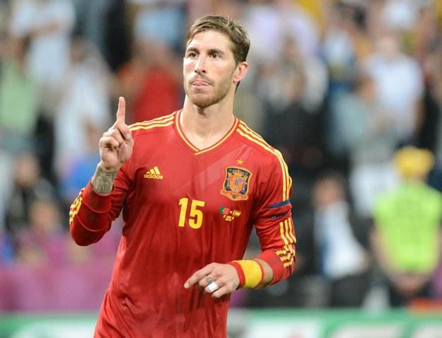 Sergio Ramos chwilę po strzeleniu rzutu karnego Rui Patricio /INTERIA.PL/AFP