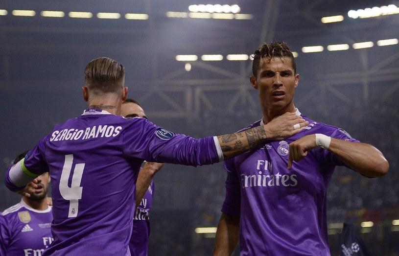 Sergio Ramos i Cristiano Ronaldo /AFP