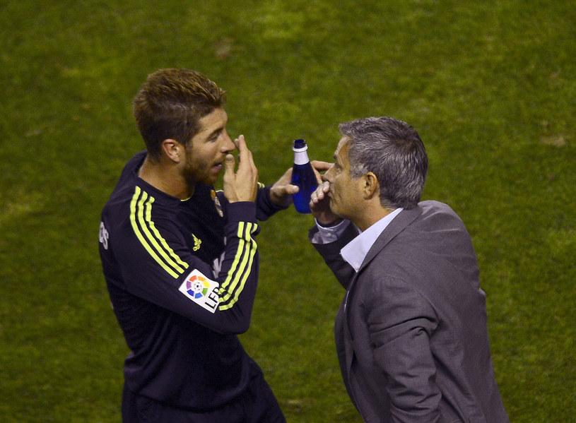 Sergio Ramos i Jose Mourinho /AFP