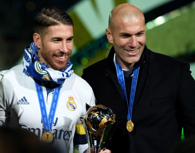 Sergio Ramos i Zinedine Zidane /AFP