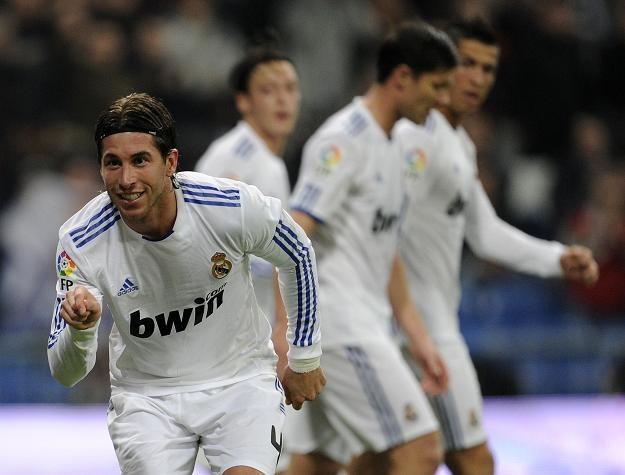 Sergio Ramos może odejść z Realu Madryt z powodu konfliktu z Cristiano Ronaldo (Portugalczyk w tle) /AFP