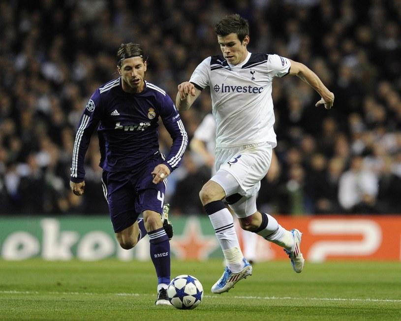 Sergio Ramos (z lewej) i Gareth Bale /AFP
