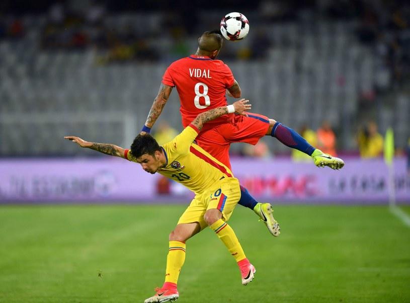 Sergiu Hanca rozegrał cztery mecze w reprezentacji Rumunii /AFP