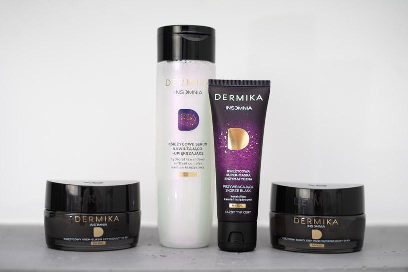 Seria Dermika Insomnia przeznaczona jest do nocnej pielęgnacji skóry /INTERIA