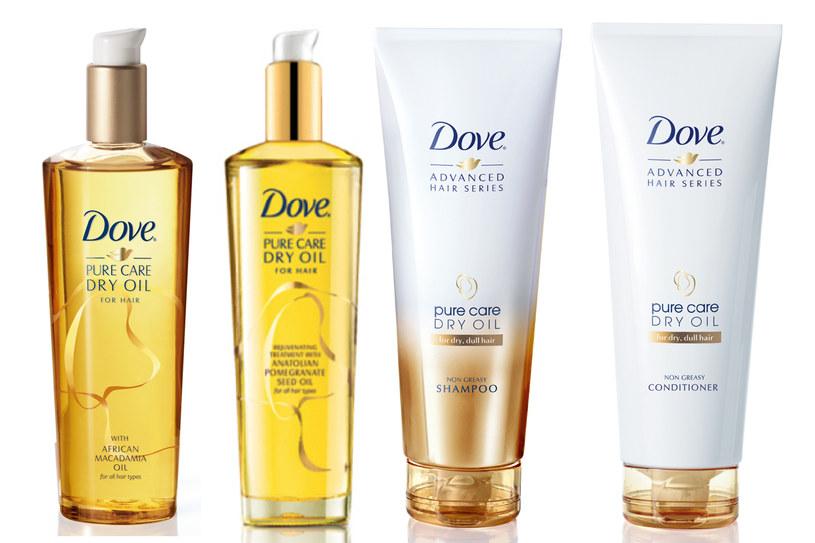 Seria Dove Pure Care Dry Oil /materiały prasowe