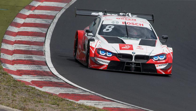 Seria DTM. Robert Kubica 14. na pierwszym treningu na Lausitzringu