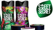Seria kosmetyków pielęgnacyjnych Sweet Secret