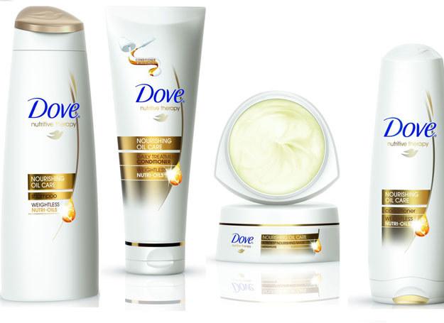 Seria nawilżających produktów Dove /materiały promocyjne