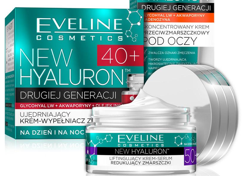 Seria New Hyaluron od Eveline /materiały prasowe