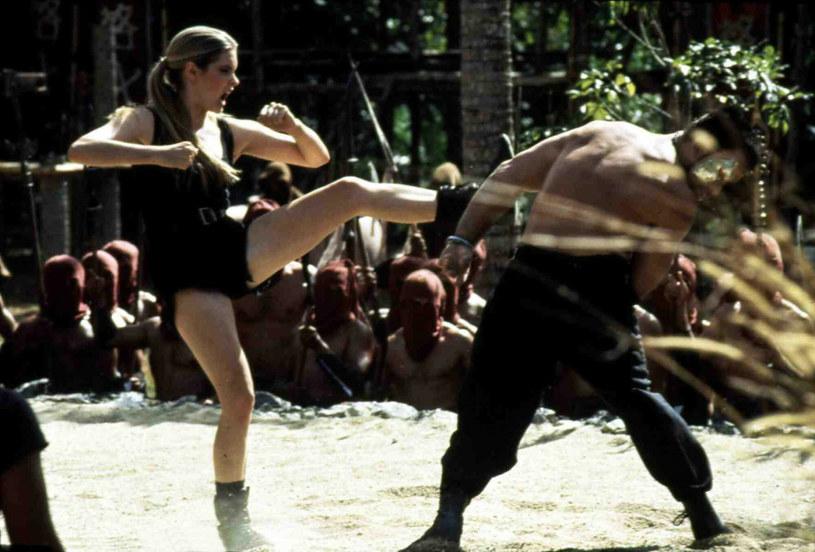 Seria od samego początku stawiała na silne postaci kobiece. Na zdjęciu filmowa Sonya Blade z wersji z 1995 r. /IFA Film /East News