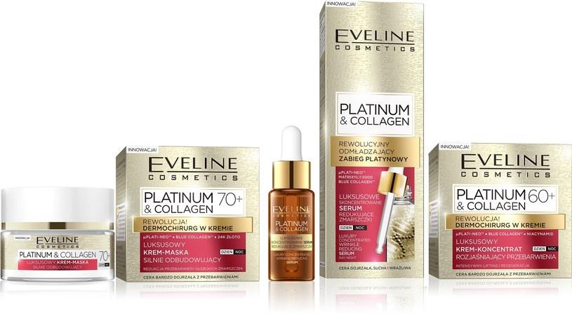 Seria Platinum & Collagen Eveline Cosmetics /INTERIA.PL/materiały prasowe