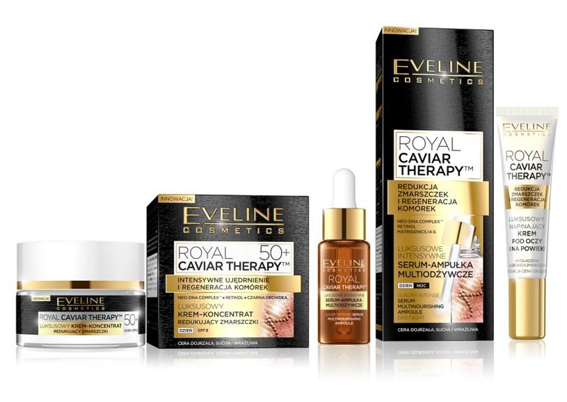 Seria Royal Caviar Eveline Cosmetics /INTERIA.PL/materiały prasowe