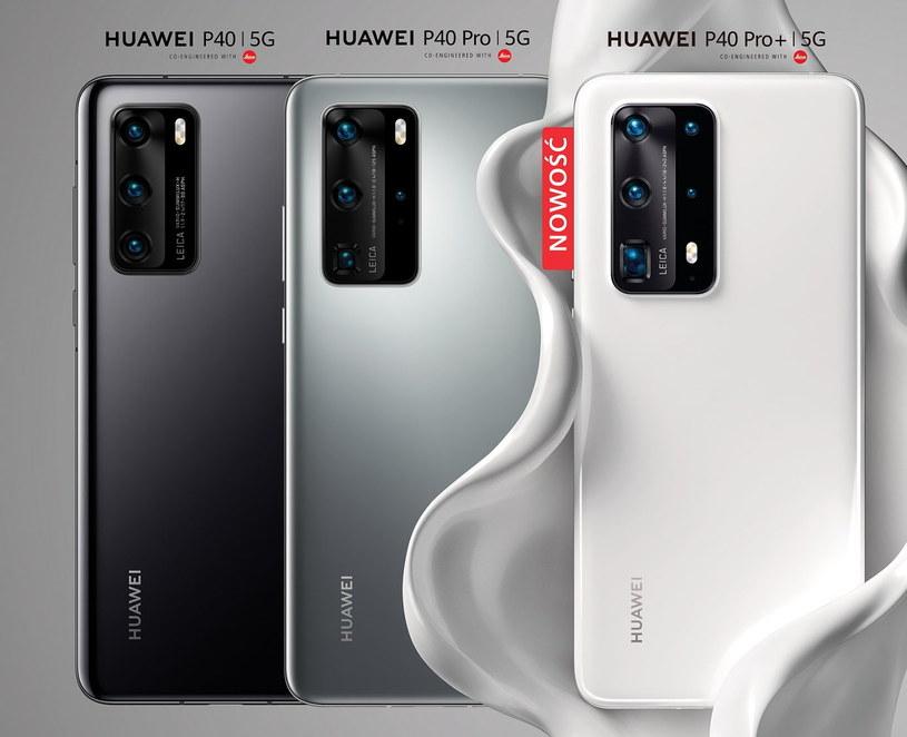 Seria smartfonów Huawei P40 /materiały prasowe