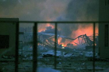 Seria wybuchów w strefie przemysłowej. Jest wiele ofiar