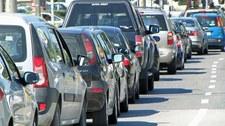 Seria wypadków w Śląskiem. Duży korek na autostradzie A4